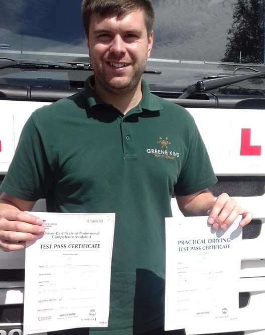 Driver with certificates
